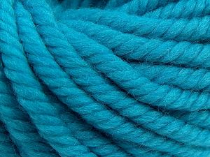 Fiber Content 100% Wool, Turquoise, Brand Ice Yarns, fnt2-68012