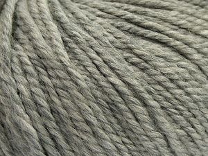 Fiber Content 50% Premium Acrylic, 25% Wool, 25% Alpaca, Light Grey, Brand Ice Yarns, fnt2-68066
