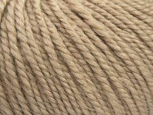 Fiber Content 50% Premium Acrylic, 25% Wool, 25% Alpaca, Brand Ice Yarns, Beige, fnt2-68069