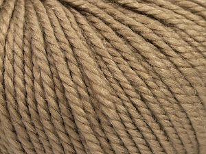 Fiber Content 50% Premium Acrylic, 25% Wool, 25% Alpaca, Brand Ice Yarns, Camel, fnt2-68070