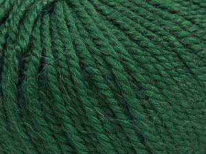 Fiber Content 50% Premium Acrylic, 25% Wool, 25% Alpaca, Brand Ice Yarns, Dark Green, fnt2-68074