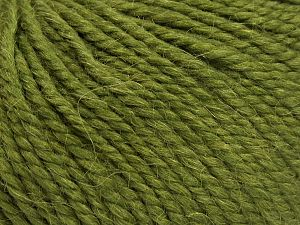 Fiber Content 50% Premium Acrylic, 25% Wool, 25% Alpaca, Jungle Green, Brand Ice Yarns, fnt2-68075
