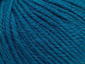 Fiber Content 50% Premium Acrylic, 25% Wool, 25% Alpaca, Turquoise, Brand Ice Yarns, fnt2-68082