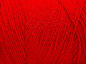 Items made with this yarn are machine washable & dryable. Fiber Content 100% Dralon Acrylic, Red, Brand Ice Yarns, fnt2-68086