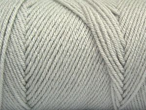 Items made with this yarn are machine washable & dryable. Fiber Content 100% Dralon Acrylic, Light Grey, Brand Ice Yarns, fnt2-68091