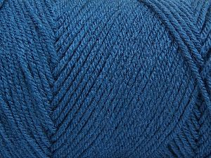Items made with this yarn are machine washable & dryable. Fiber Content 100% Dralon Acrylic, Brand Ice Yarns, Blue, fnt2-68092