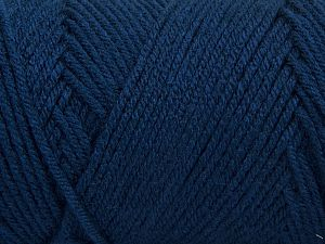 Items made with this yarn are machine washable & dryable. Fiber Content 100% Dralon Acrylic, Navy, Brand Ice Yarns, fnt2-68093