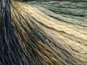 Fiber Content 100% Acrylic, Navy, Light Grey, Brand Ice Yarns, Cream Shades, fnt2-68100