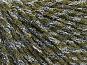 Fiber Content 70% Acrylic, 30% Wool, Jeans Blue, Brand Ice Yarns, Dark Green, fnt2-68104