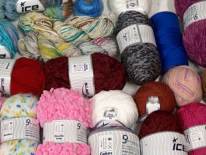 Fancy Yarns In this list; you see most recent 50 mixed lots. <br> To see all <a href=&/mixed_lots/o/4#list&>CLICK HERE</a> (Old ones have much better deals)<hr> Brand Ice Yarns, fnt2-68109