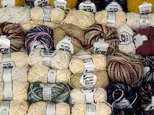 Fancy yarns In this list; you see most recent 50 mixed lots. <br> To see all <a href=&/mixed_lots/o/4#list&>CLICK HERE</a> (Old ones have much better deals)<hr> Brand Ice Yarns, fnt2-68112