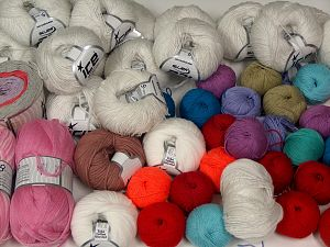 Summer Yarns In this list; you see most recent 50 mixed lots. <br> To see all <a href=&/mixed_lots/o/4#list&>CLICK HERE</a> (Old ones have much better deals)<hr> Brand Ice Yarns, fnt2-68119