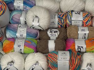 Summer Yarns In this list; you see most recent 50 mixed lots. <br> To see all <a href=&/mixed_lots/o/4#list&>CLICK HERE</a> (Old ones have much better deals)<hr> Brand Ice Yarns, fnt2-68120