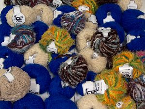 Fancy yarns In this list; you see most recent 50 mixed lots. <br> To see all <a href=&/mixed_lots/o/4#list&>CLICK HERE</a> (Old ones have much better deals)<hr> Brand Ice Yarns, fnt2-68121
