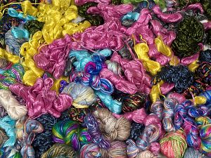 Leftover of Fancy Yarns In this list; you see most recent 50 mixed lots. <br> To see all <a href=&/mixed_lots/o/4#list&>CLICK HERE</a> (Old ones have much better deals)<hr> Brand Ice Yarns, fnt2-68124