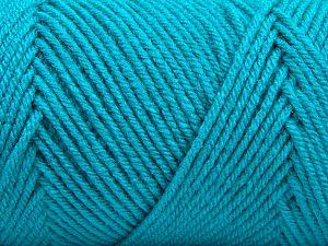 Fiber Content 100% Dralon Acrylic, Turquoise, Brand Ice Yarns, fnt2-68131