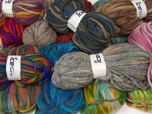Winter Yarns The item is 80 meters per 100 grams. In this list; you see most recent 50 mixed lots. <br> To see all <a href=&/mixed_lots/o/4#list&>CLICK HERE</a> (Old ones have much better deals)<hr> Fiber Content 80% Acrylic, 20% Wool, Brand Ice Yarns, fnt2-68144