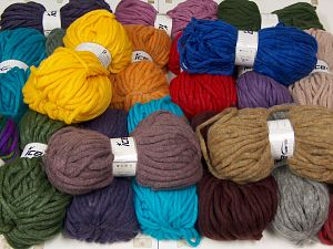 Winter Yarns The item is 80 meters per 100 grams. In this list; you see most recent 50 mixed lots. <br> To see all <a href=&/mixed_lots/o/4#list&>CLICK HERE</a> (Old ones have much better deals)<hr> Fiber Content 80% Acrylic, 20% Wool, Brand Ice Yarns, fnt2-68146