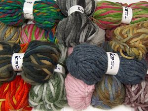 Winter Yarns The item is 80 meters per 100 grams. In this list; you see most recent 50 mixed lots. <br> To see all <a href=&/mixed_lots/o/4#list&>CLICK HERE</a> (Old ones have much better deals)<hr> Fiber Content 80% Acrylic, 20% Wool, Brand Ice Yarns, fnt2-68147