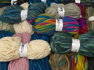 Winter Yarns The item is 80 meters per 100 grams. In this list; you see most recent 50 mixed lots. <br> To see all <a href=&/mixed_lots/o/4#list&>CLICK HERE</a> (Old ones have much better deals)<hr> Fiber Content 80% Acrylic, 20% Wool, Brand Ice Yarns, fnt2-68148