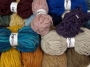 Winter Yarns The item is 80 meters per 100 grams. In this list; you see most recent 50 mixed lots. <br> To see all <a href=&/mixed_lots/o/4#list&>CLICK HERE</a> (Old ones have much better deals)<hr> Fiber Content 80% Acrylic, 20% Wool, Brand Ice Yarns, fnt2-68150