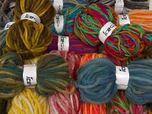 Winter Yarns The item is 80 meters per 100 grams. In this list; you see most recent 50 mixed lots. <br> To see all <a href=&/mixed_lots/o/4#list&>CLICK HERE</a> (Old ones have much better deals)<hr> Fiber Content 80% Acrylic, 20% Wool, Brand Ice Yarns, fnt2-68151