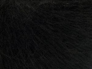Fiber Content 50% Acrylic, 25% Wool, 25% Nylon, Brand Ice Yarns, Black, fnt2-68159