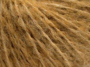 Fiber Content 40% Wool, 40% Acrylic, 2% Elastan, 18% Nylon, Milky Brown, Brand Ice Yarns, fnt2-68161