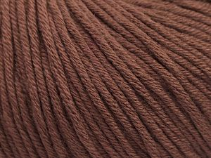 Fiber Content 50% Acrylic, 50% Cotton, Rose Brown, Brand Ice Yarns, fnt2-68192