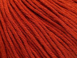 Fiber Content 50% Acrylic, 50% Cotton, Terra Cotta, Brand Ice Yarns, fnt2-68193