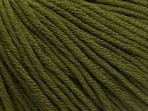 Fiber Content 50% Acrylic, 50% Cotton, Khaki, Brand Ice Yarns, fnt2-68194