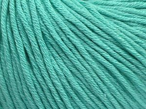 Fiber Content 50% Acrylic, 50% Cotton, Mint Green, Brand Ice Yarns, fnt2-68197