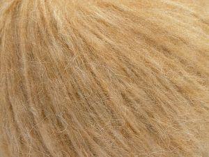 Fiber Content 55% Acrylic, 23% Nylon, 22% Wool, Brand Ice Yarns, Dark Cream, fnt2-68208