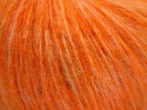 Fiber Content 55% Acrylic, 23% Nylon, 22% Wool, Light Orange, Brand Ice Yarns, fnt2-68213