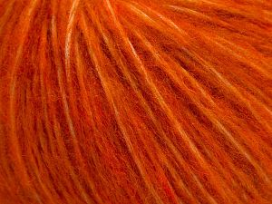 Fiber Content 55% Acrylic, 23% Nylon, 22% Wool, Brand Ice Yarns, Dark Orange, fnt2-68214
