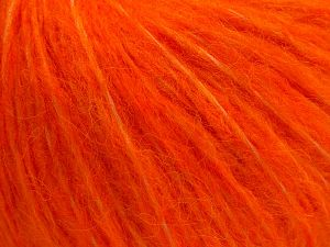 Fiber Content 55% Acrylic, 23% Nylon, 22% Wool, Orange, Brand Ice Yarns, fnt2-68215