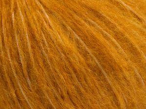 Fiber Content 55% Acrylic, 23% Nylon, 22% Wool, Brand Ice Yarns, Gold, fnt2-68217