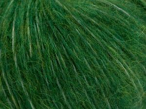 Fiber Content 55% Acrylic, 23% Nylon, 22% Wool, Brand Ice Yarns, Dark Green, fnt2-68219