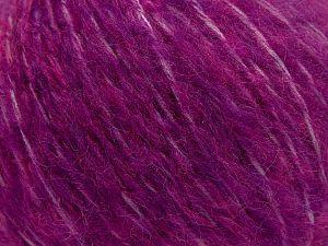 Fiber Content 55% Acrylic, 23% Nylon, 22% Wool, Brand Ice Yarns, Dark Fuchsia, fnt2-68225