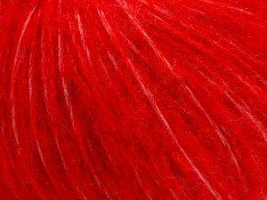 Fiber Content 55% Acrylic, 23% Nylon, 22% Wool, Red, Brand Ice Yarns, fnt2-68228