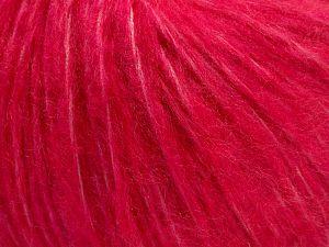 Fiber Content 55% Acrylic, 23% Nylon, 22% Wool, Brand Ice Yarns, Candy Pink, fnt2-68231