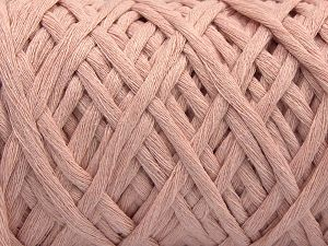 Fiber Content 100% Cotton, Powder Pink, Brand Ice Yarns, Yarn Thickness 5 Bulky Chunky, Craft, Rug, fnt2-68235