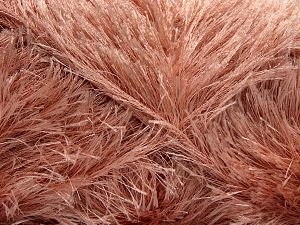 Fiber Content 100% Polyester, Powder Pink, Brand Ice Yarns, Yarn Thickness 5 Bulky Chunky, Craft, Rug, fnt2-68237