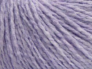 Fiber Content 80% Acrylic, 7% Elastan, 13% Nylon, Light Lilac, Brand Ice Yarns, fnt2-68272