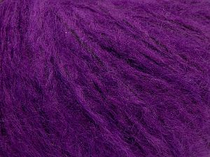Fiber Content 55% Acrylic, 23% Nylon, 22% Wool, Purple, Brand Ice Yarns, fnt2-68273