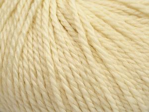 Fiber Content 100% Wool, Brand Ice Yarns, Cream, fnt2-68276