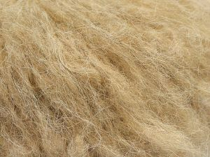 Fiber Content 40% Wool, 40% Acrylic, 20% Nylon, Light Camel, Brand Ice Yarns, fnt2-68283