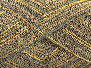 Fiber Content 70% Viscose, 20% Acrylic, 10% Cashmere, Salmon, Brand Ice Yarns, Grey, Green Shades, Gold, fnt2-68288