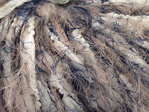 Fiber Content 80% Nylon, 20% Polyester, White, Navy, Light Salmon, Brand Ice Yarns, fnt2-68291