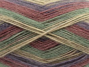 Fiber Content 50% Acrylic, 32% Wool, 18% Angora, Purple, Orchid, Brand Ice Yarns, Green, Beige, fnt2-68343